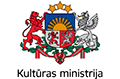 Latvijas Kult�ras ministrijas LOGO