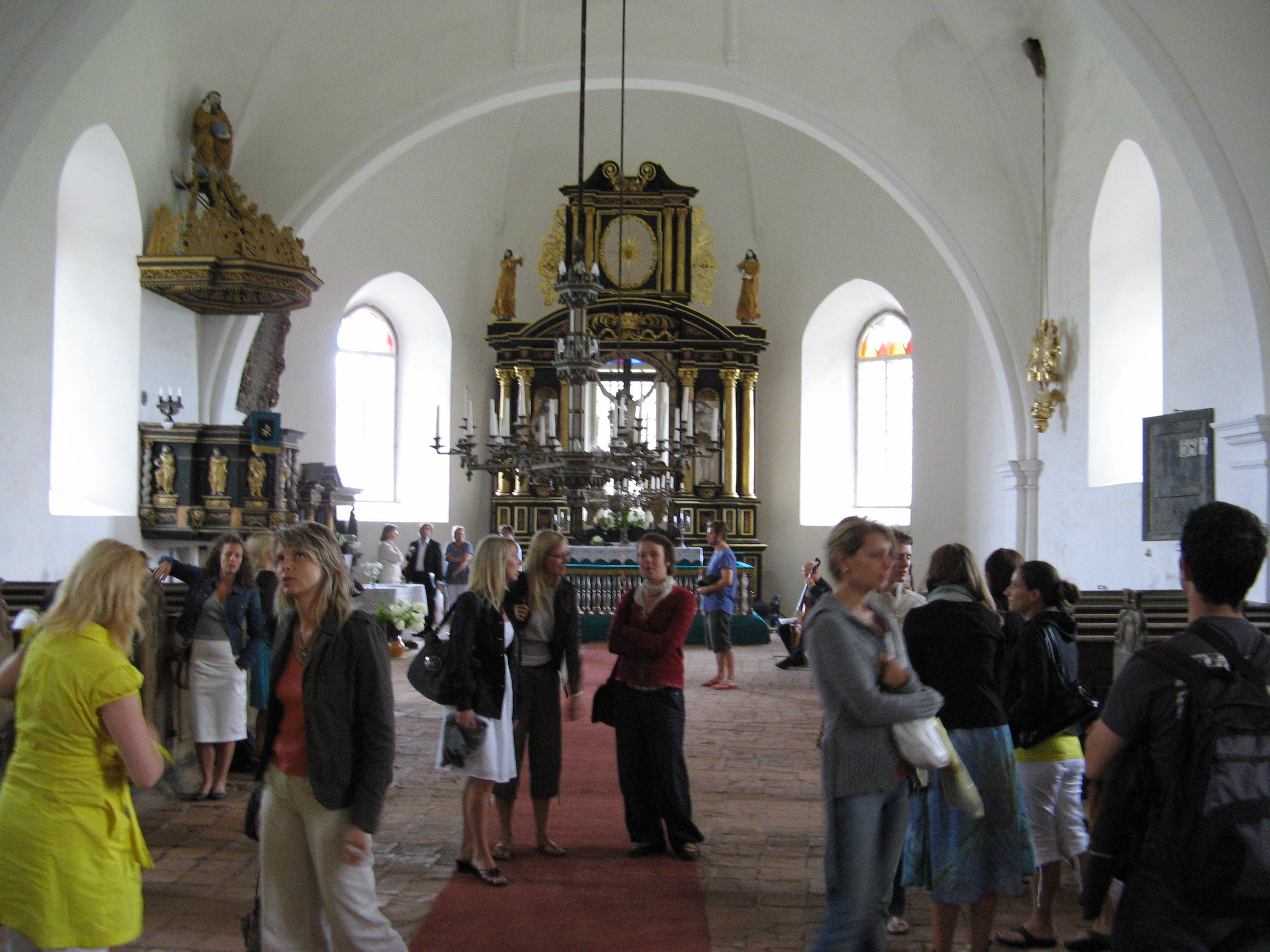 Ugāles baznīcā