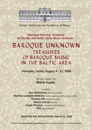 Baroque Unknown