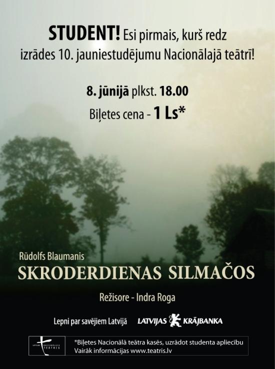 Latvijas Nacionālais teātris piedāvā